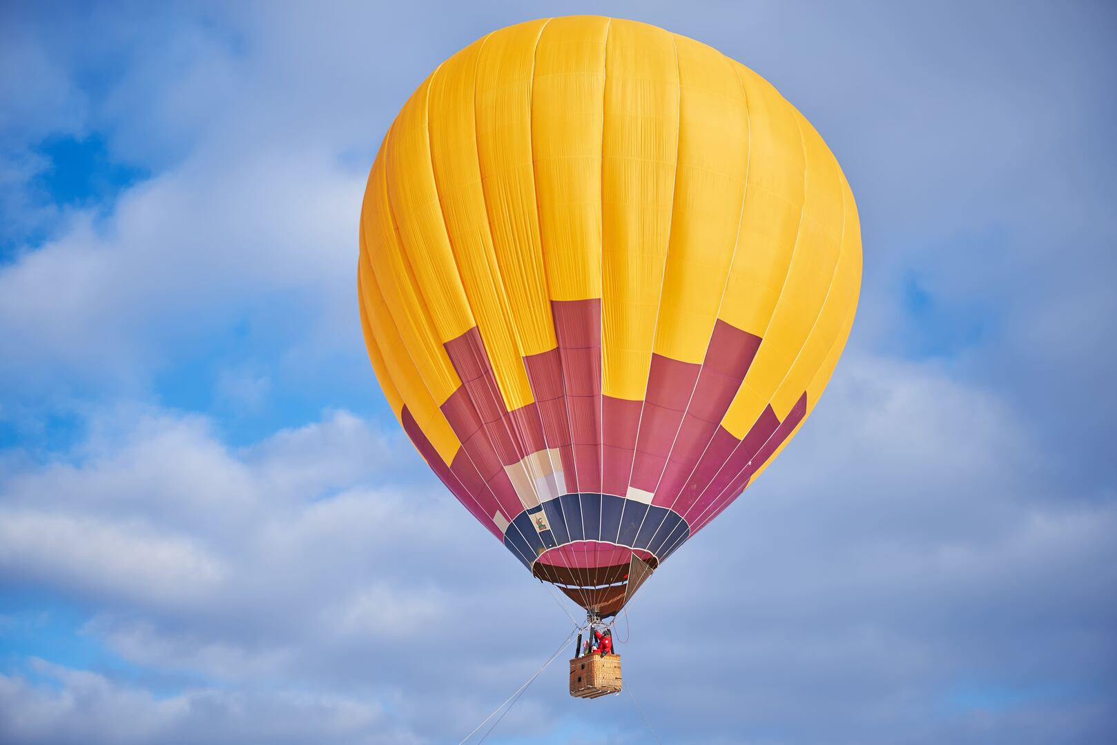 получаются картинки на большом воздушном шаре помощью
